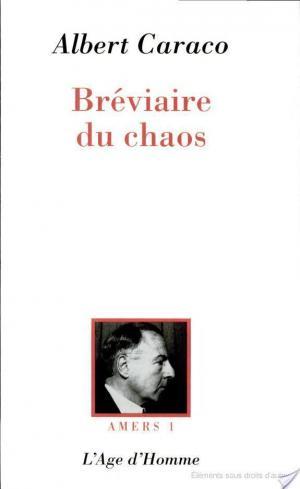 Affiche Bréviaire du chaos