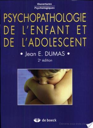 Affiche Psychopathologie de l'enfant et de l'adolescent