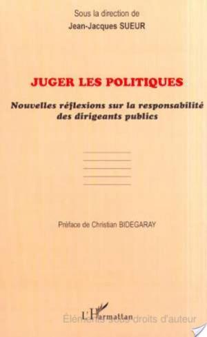 Affiche JUGER LES POLITIQUES