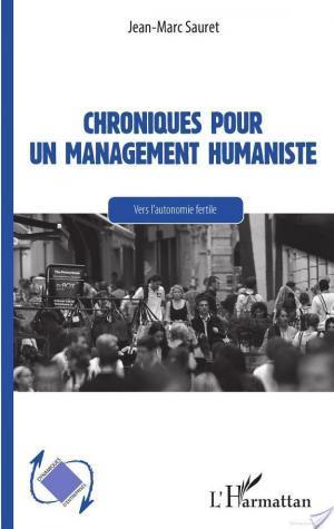 Affiche Chroniques pour un management humaniste