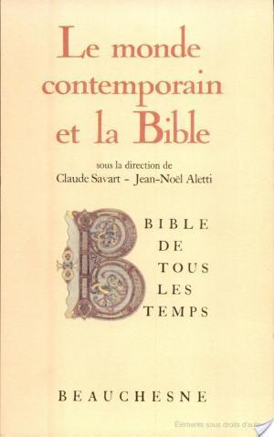 Affiche Le Monde contemporain et la Bible
