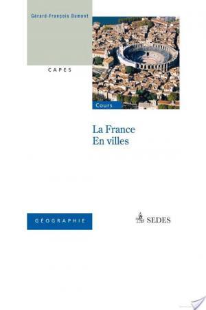Affiche La France en villes