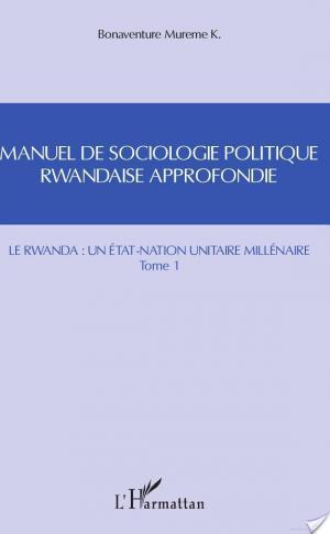 Affiche Manuel de sociologie politique rwandaise approfondie