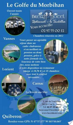 Affiche Morbihan 2012-2013 (avec cartes, photos + avis des lecteurs)