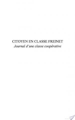Affiche Citoyen en classe Freinet