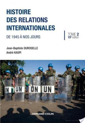 Affiche Histoire des relations internationales