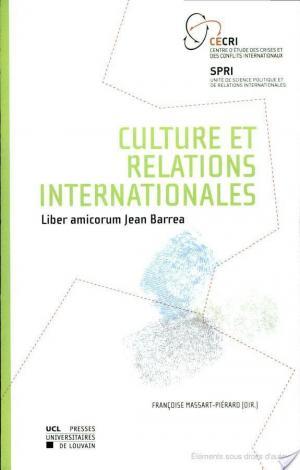 Affiche Culture et relations internationales