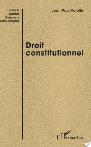 Affiche Droit constitutionnel