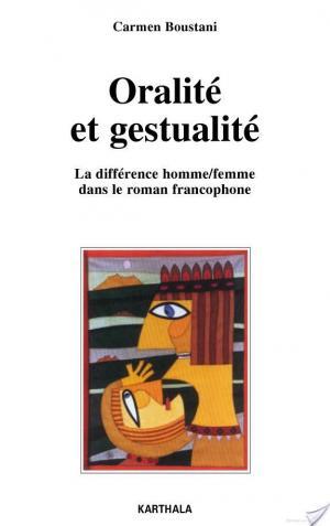 Affiche Oralité et gestualité