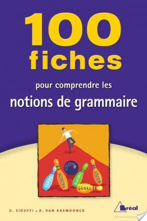 Affiche 100 fiches pour comprendre les notions de grammaire