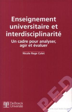 Affiche Enseignement universitaire et interdisciplinarité
