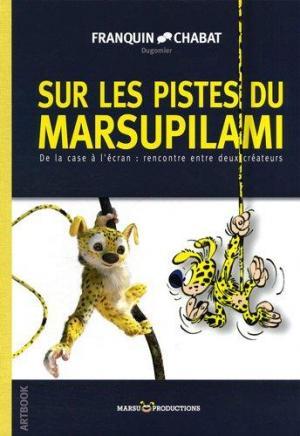 Affiche Artbook : Sur les pistes du Marsupilami, De la case à l'écran : rencontre entre deux créateurs