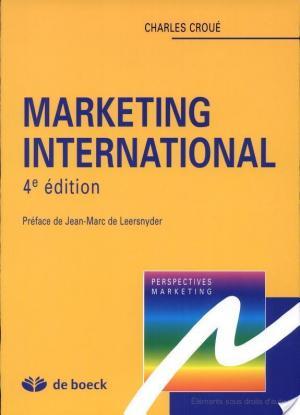 Affiche Marketing international