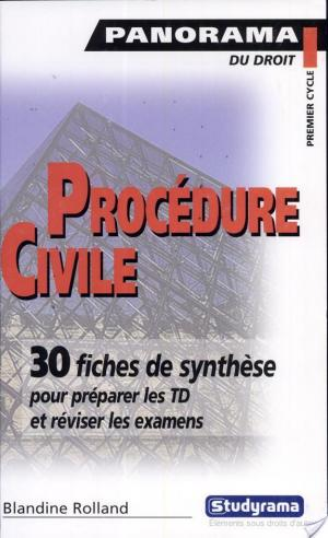 Affiche Procédure civile