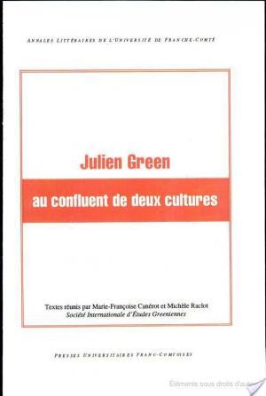 Affiche Julien Green au confluent de deux cultures