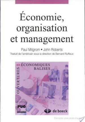 Affiche Economie, organisation et management