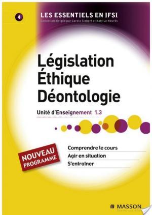 Affiche Législation. Éthique. Déontologie