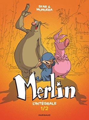Affiche Merlin - Intégrale - tome 1 - Merlin - intégrale T1/2