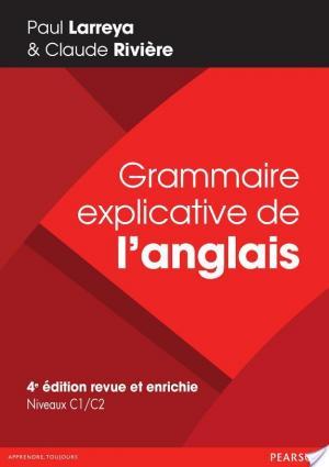 Affiche Grammaire explicative de l'anglais