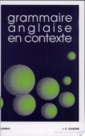 Affiche Grammaire anglaise en contexte