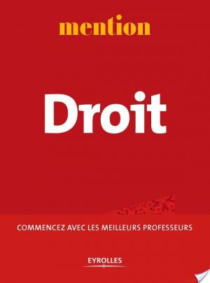 Affiche Mention Droit