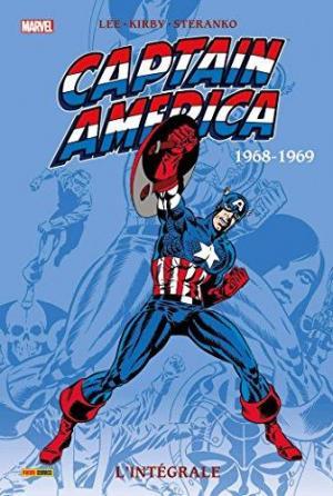 Affiche CAPTAIN AMERICA INTEGRALE T03 1968 1969