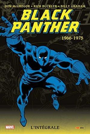 Affiche Black Panther intégrale T01 1966-1975