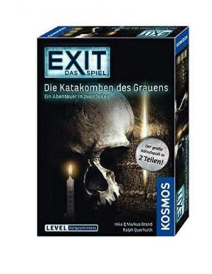 Affiche Exit - Die Katakomben des Grauens: Das Spiel für 1 - 4 Spieler