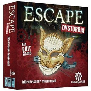 Affiche ESCAPE Dysturbia: Mörderischer Maskenball: Ein Exit Game