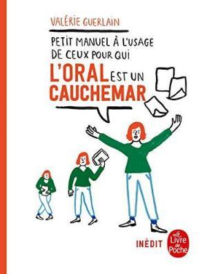 Affiche Petit manuel à l'usage de ceux pour qui l'oral est un cauchemar
