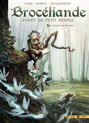 Affiche Brocéliande 01 - La Fontaine de Barenton