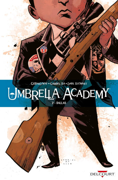 Affiche Umbrella Academy 02. Dallas