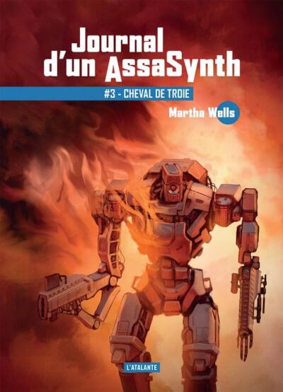 Affiche Journal d'un AssaSynth, Tome 3 : Cheval de troie