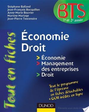 Affiche Economie-Droit - en 80 fiches