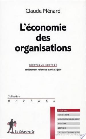 Affiche L'économie des organisations