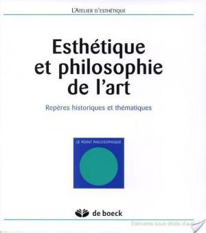 Affiche Esthétique et philosophie de l'art