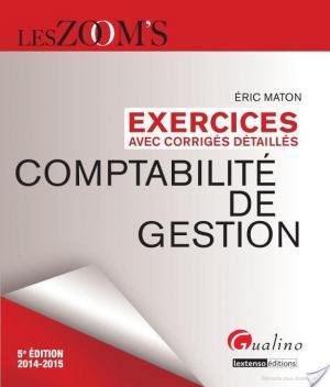 Affiche Exercices avec corrigés détaillés - Comptabilité de gestion 2014-2015