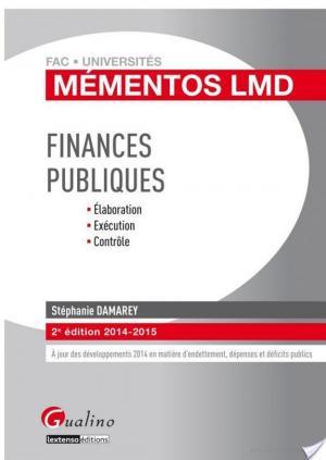 Affiche Finances publiques 2014-2015