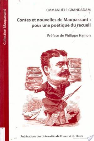 Affiche Contes et nouvelles de Maupassant