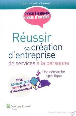 Affiche Réussir sa création d'entreprise de services à la personne