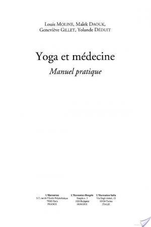 Affiche Yoga et la médecine