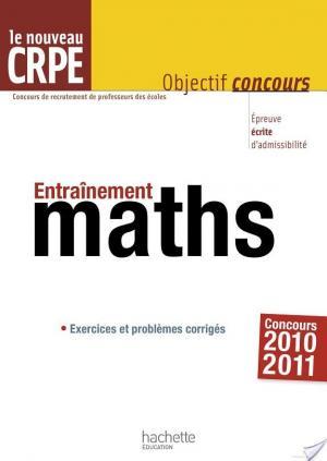 Affiche Entrainement pour le CRPE : mathématiques