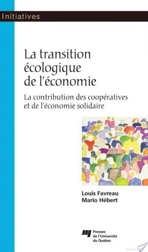 Affiche La transition écologique de l'économie