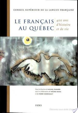Affiche Le français au Québec
