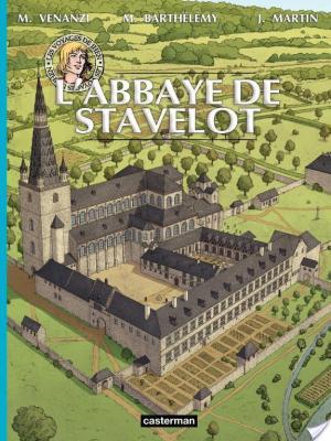 Affiche Les voyages de Jhen - L'Abbaye de Stavelot