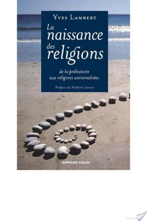 Affiche La naissance des religions