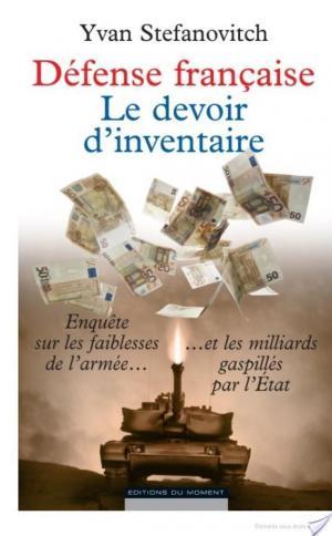 Affiche Défense française, le devoir d'inventaire