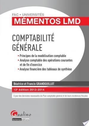 Affiche Comptabilité générale 2013-2014