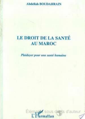 Affiche Le droit de la santé au Maroc