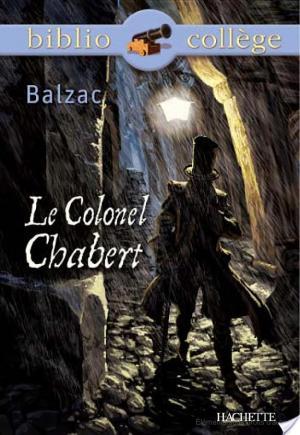 Affiche Bibliocollège - Le Colonel Chabert, Balzac